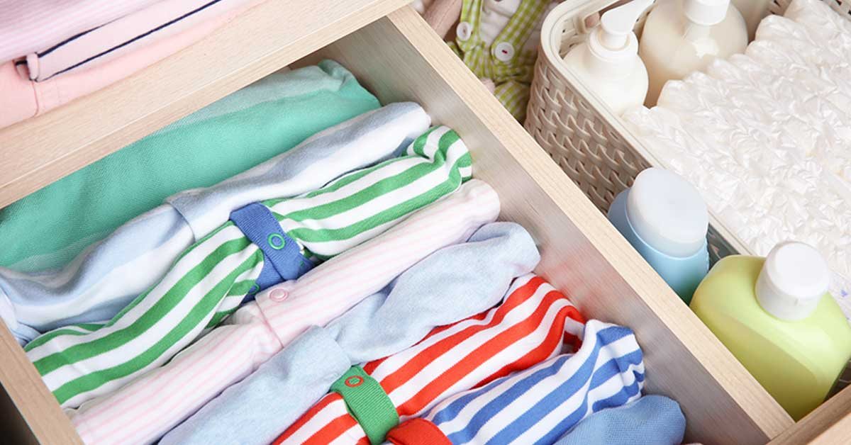 BABY CLOTHING STORAGE